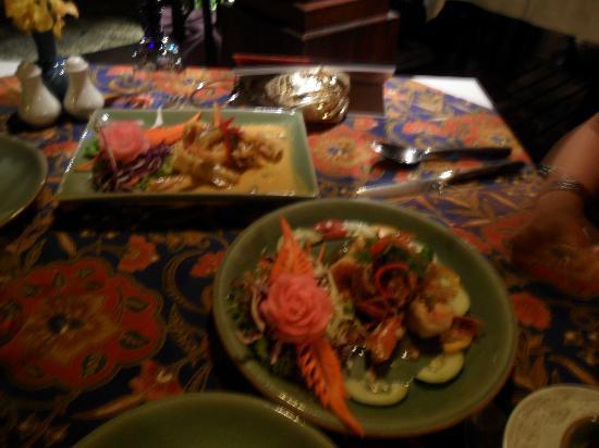 Poppies Restaurant: our dinner