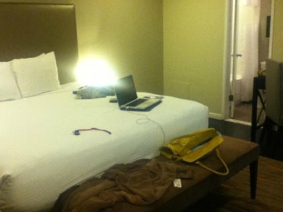 شيلتر هوتل لوس أنجلوس: bed
