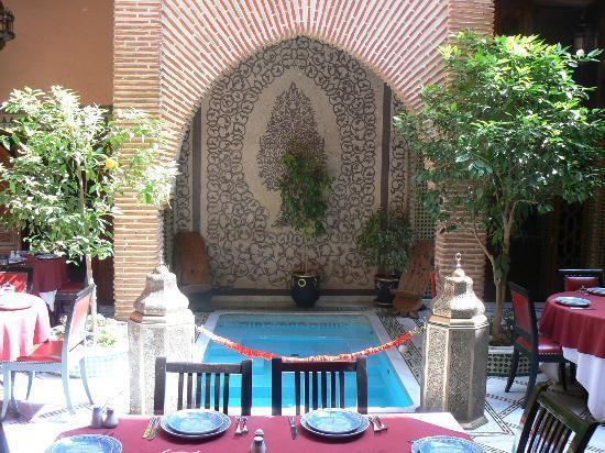 Riad & Spa Mabrouk: Patio