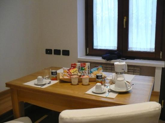 Il Giardino delle Tartarughe: tavola della colazione