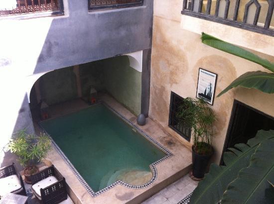 Riad Alamir : vue de la chambre