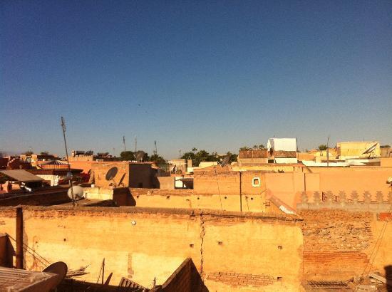 Riad Alamir: vue en terrasse 3