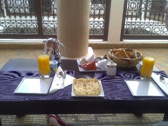 Riad Azza : colazione