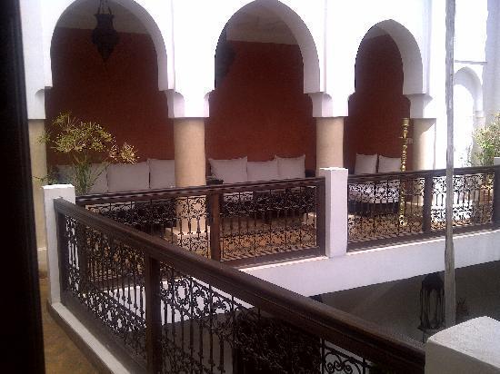 Riad Azza : terrazza esterna