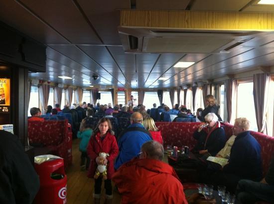 Donegal Town, İrlanda: Full boat