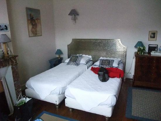 Le Belvedere Bed and Breakfast : The Blue Room