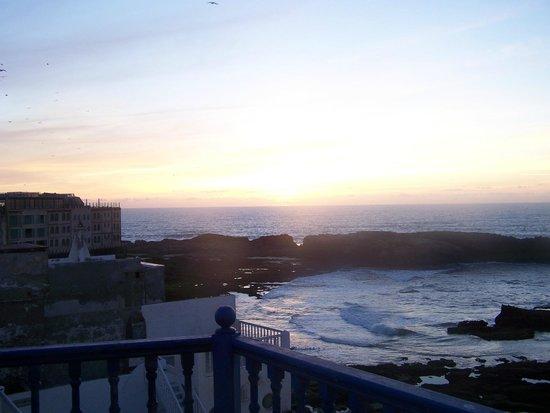 Riad La Rose des Vents: vue depuis la terrasse