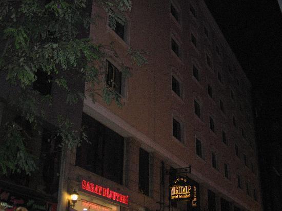 Yigitalp Hotel: Façade externe hotel yigitalp