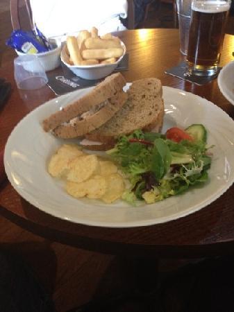The Devonshire Arms: sandwich