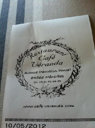 Cafe Veranda: café véranda