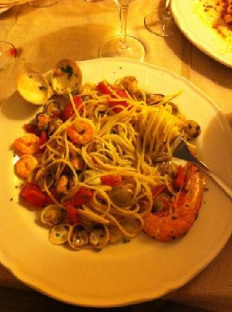 Ristorante Pizzeria Redentore: spaghetti al pescatore ottimi