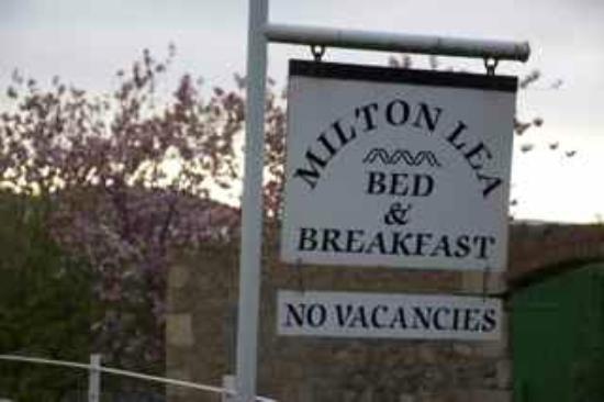 Milton Lea Bed & Breakfast: Aussenansicht