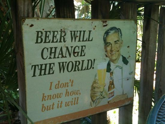 On The Back Porch With A Bunch Of Other Cool Signs Picture Of