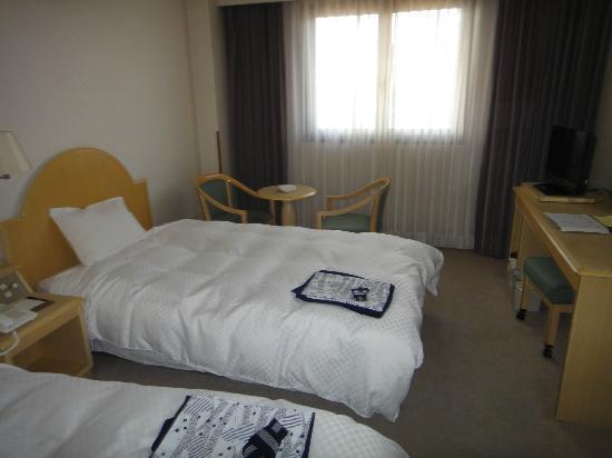 Kokuminshukusha Nijinomatsubara Hotel: 窓はオーシャンビュー