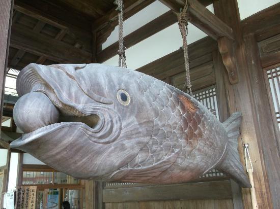 Obakusan Manpuku - ji Temple : 木魚