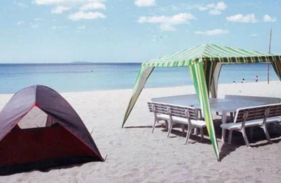 San Juan, Filippine: Sand ans Sun