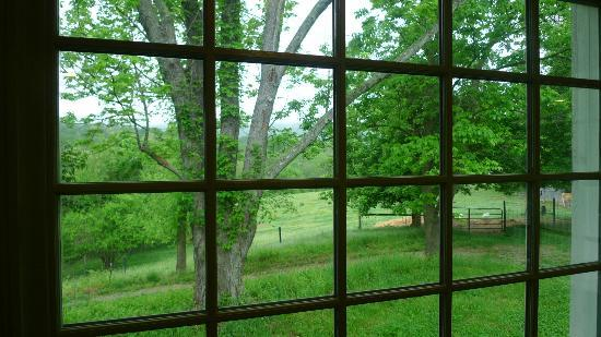 Blue Ridge Center for Environmental Stewardship: View from the farm house