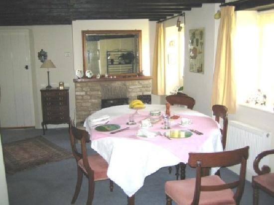 Honeysuckle Cottage : Breakfast Room