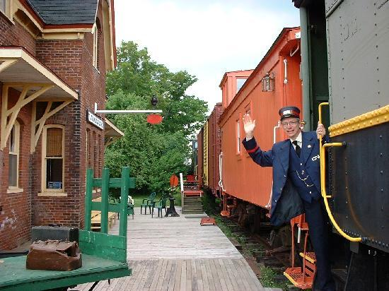 Tatamagouche, Canada: The Stationmaster