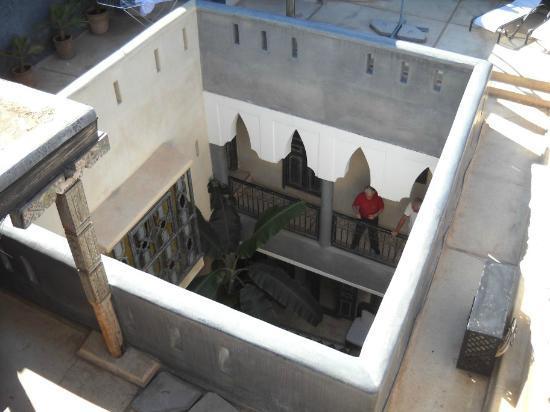 Riad Alamir: Innenhof