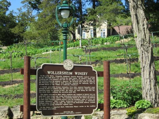 Wollersheim Winery & Distillery: On the path to the tasting room and shop