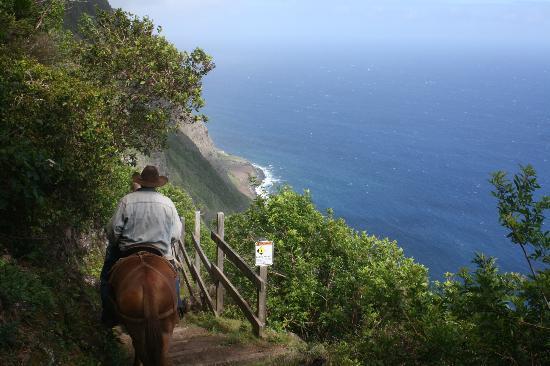 Kalaupapa, Гавайи: View from the trail