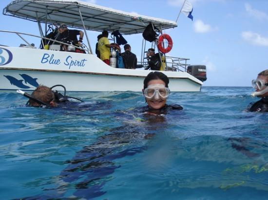 Big Blue Divers: Tauchen bei L'Ilot mit BBD, Okt 2011