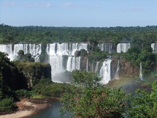 Cataratas del Iguazú: Cascate dal lato brasiliano