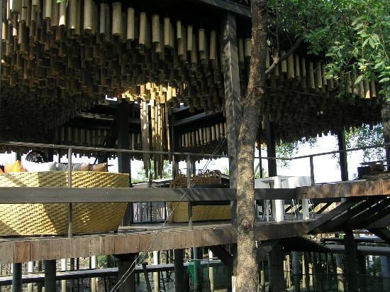 Bangkok Tree House: Another view of the Restaurant
