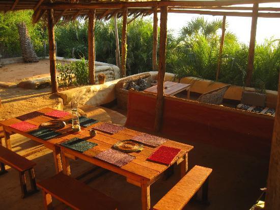 LaGoa Eco Lodge: dining area
