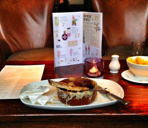 The Ship Inn: rib eye pie....done!