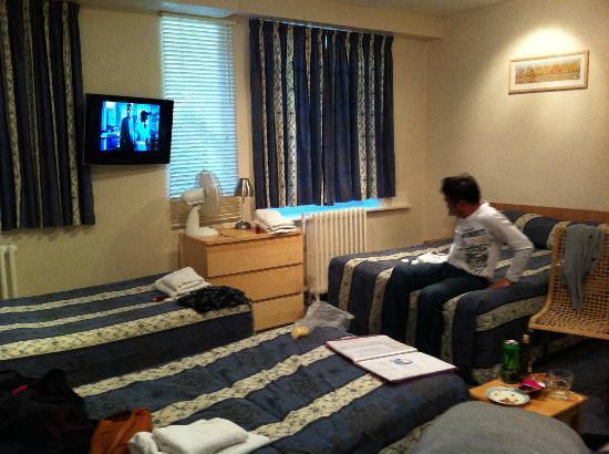 The Euro Hotel: 4ベッド・エンスイート