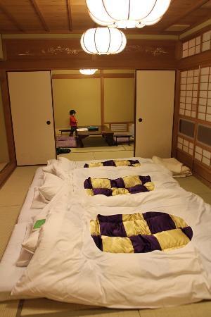 Daimaru Betso: 「平安亭」2間続きの広い客室