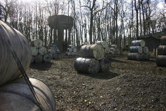 Delta Force Paintball Crawley: Watch out for the sharp shooter in the tower