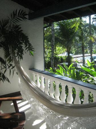 Pousada Picinguaba : Balcony off of room