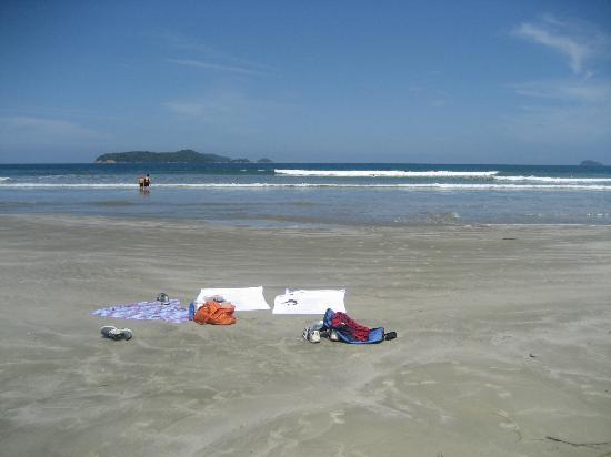 Pousada Picinguaba: Nearby beach