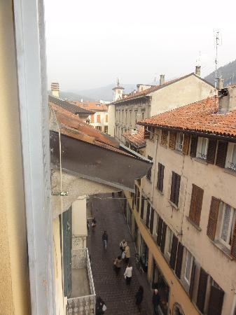 Bed and Breakfast Storico: Street below