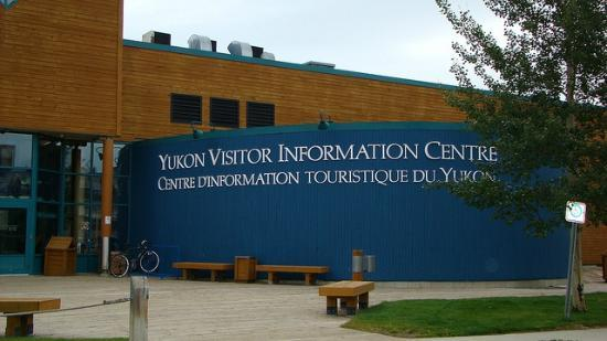 Yukon Visitor Information Centre : The Front of the visitor centre