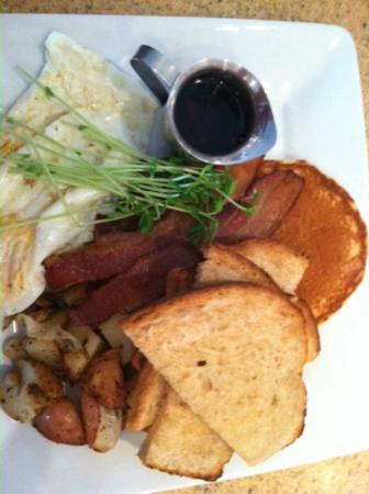 Stolen Menu Cafe LLC : Nice breakfast