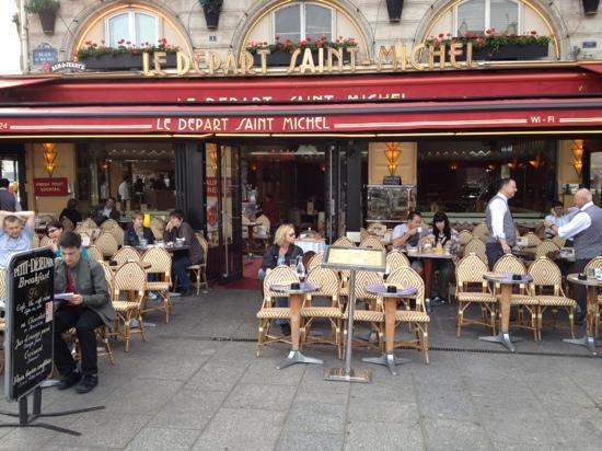 Cafe Le Depart St Michel Paris
