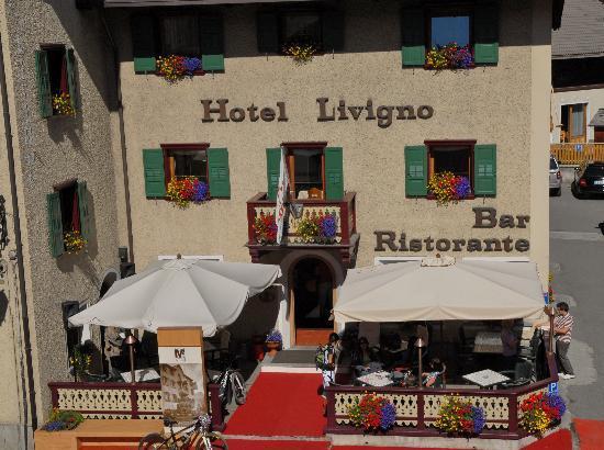 Hotel Livigno: Veranda