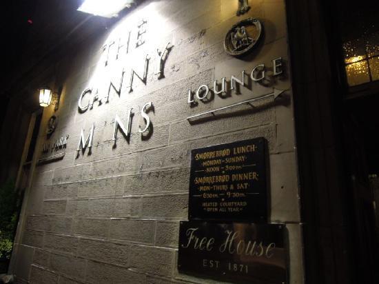 The Canny Man  Pub: outside
