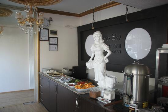 Vicapalas Hotel: restaurant (1st floor)