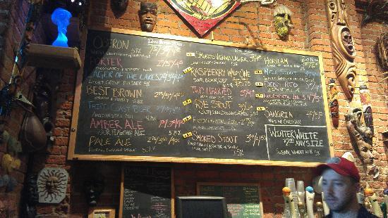 Bell's Comstock Brewery: Tap Menu