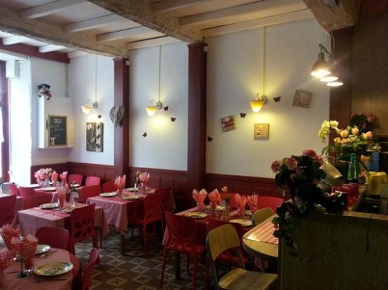 L'Als'Assiette: Intérieur du restaurant