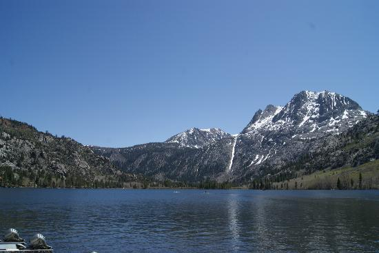 June Lake Marina: Silver Lake