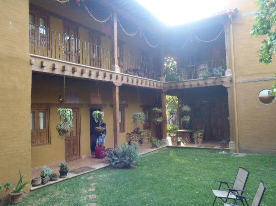 Posada Yolihuani: Backyard view