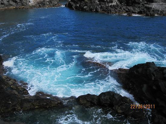Caloura Hotel Resort: Farligt vatten