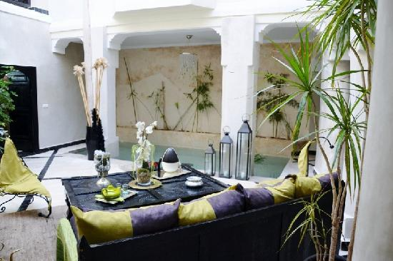 Riad Bamboo: patio