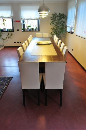 Albergo della Ceramica: La salle commune